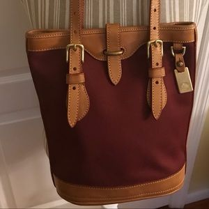 Dooney & Bourke Small Cabriolet Canvas Bucket Bag